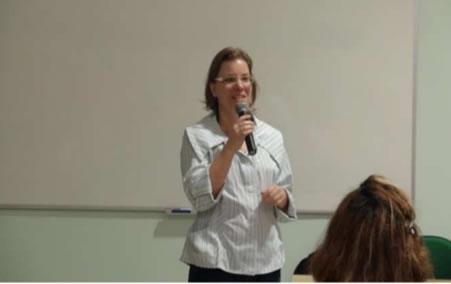 Figura 7. Esclarecimentos sobre a consulta pública pela consultora Sra. Sandra Steinmetz.