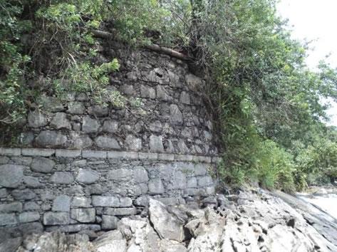Figura 69. Ruínas do Forte de São Luiz (antiga Fortaleza de São Felipe).