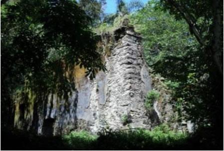 Figura 29. Ruínas da Ermida de Santo Antônio do Guaibê.