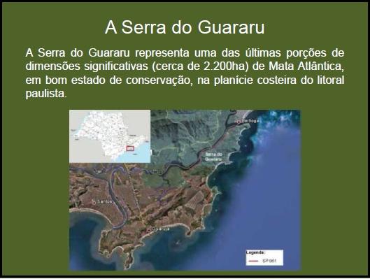 A Serra do Guararu