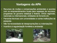 Vantagens da APA