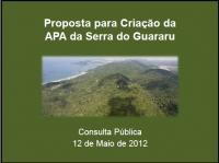 Proposta para Criação da APA da Serra do Guararu